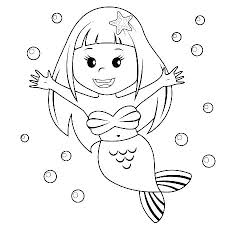Merman Coloring Pages Merman Coloring Page For The Boys Printable