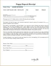 Puppy Sales Contract. 7+ Free Printable Puppy Contract St ...