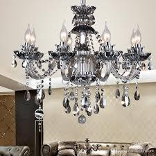 black murano glass crystal chandelier light modern black chandeliers restaurant chandelier glass candle chandeliers crystal ball chandelier purple