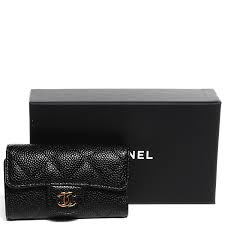chanel key pouch. chanel caviar quilted 6 key holder black. pinch/zoom chanel pouch