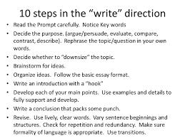 essay writing ppt 7 10