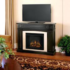 Large Black Tv Stand Tv Stand Tv Stand With Fireplace Black Home Design Ideas
