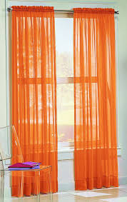 curtains rust orange designs burnt sheer windows duck river bali faux silk grommet panel set of and