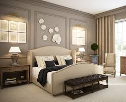 bedroom contemporary beige and black bedroom decoration