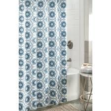 shower curtains light blue and brown shower curtain fl brown green blue shower curtain new