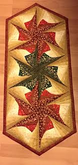 Twisted Log Cabin Poinsettia Table Runner Pattern Table & Like this item? Adamdwight.com