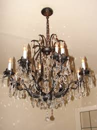 crafty oil rubbed bronze crystal chandelier lighting beautiful for home design with and antique 5 light