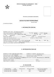 Formato De Hoja De Servicio Formato Hoja De Vida Sena
