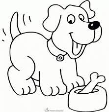 Baby Hondje Kleurplaten