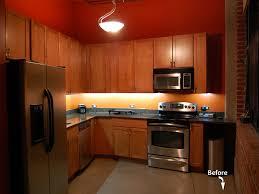 under cupboard lighting led. Wonderful Lighting Contemporary Kitchen Design With Led Strip Under Cabinet Lighting Regard To  Lights Decor 19 On Cupboard N