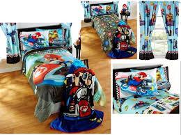 kids boys super mario bedding bed in a