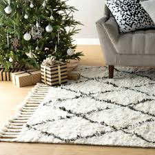 off white area rug hand knotted wool off white dark grey area rug white area rug