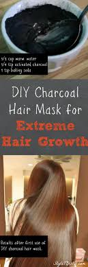 charcoal hair mask save diy activated