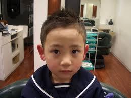 子供code101髪型code101男の子短髪ソフトモヒカンアシメ長め In