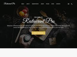 Wp Restaurant Themes Restaurant Pro Seo Themes
