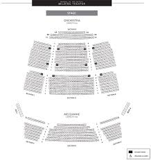 Xfinity Theater Hartford Detailed Seating Chart The Bushnell Center For The Performing Arts Seating Charts
