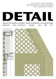 Detail 102017 Mauerwerkbrick Construction By Detail Issuu