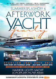 Harbor Lights Boat Summer Splashoff 6 After Work Yacht Party The Harbor