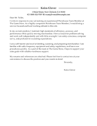 Best Production Team Members Cover Letter Examples