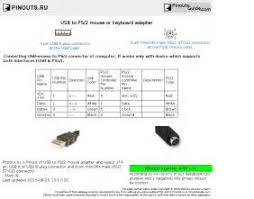 ps2 controller to usb wiring diagram images wiring diagram ps2 controller to usb wiring diagram usb to ps 2 mouse or keyboard adapter pinout diagram