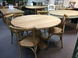 montego solid hardwood round timber pedestal dining table 4 chair package 150cm round natural oak