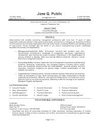 Federal Resumes Examples Accounting Manager Resume Accounting