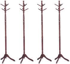 Coat Rack Legs Gorgeous Acme Furniture Grady Collection 332 Set Of 332 Coat Racks With 32