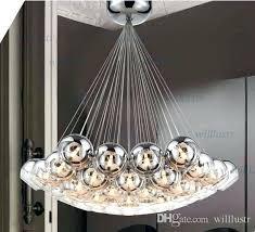 Designer pendant lighting Top Cluster Pendant Light Modern Crystal Ball Lamps Glass Pendant Lamps Cluster Hanging Chandeliers Stair Lighting Hall Nationonthetakecom Cluster Pendant Light Dreamriversinfo