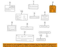 Details About Mercedes Oem 1998 Clk320 Labels Fuse Box Info Label 2085450000