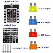 new rv 10 way ato fuseholder auto car fuse box truck boat trailer new rv 10 way ato fuseholder auto car fuse box truck boat trailer wagon csl2018 in fuses from automobiles motorcycles on aliexpress com alibaba group
