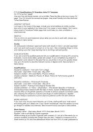 Casual Resume Example 60 Outstanding How To Write A Resume For Casual Job Go Work 25