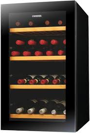 Wine Bottle Storage Angle Vintec V30sgmebk 35 Bottles Wine Storage Cabinet Appliances Online