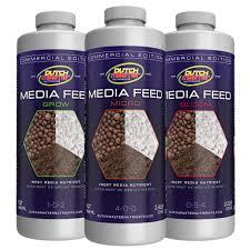 Dutch Nutrients Feeding Chart Media Feed