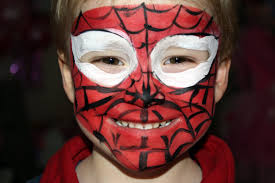 spiderman face painting for children tutorials tips and designs hubpages