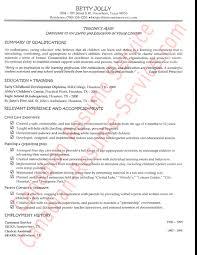 Sample Resume For Teachers Aide Job Danaya Us