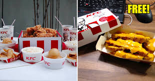 test m sians can now claim free cheezy wedges from kfc delivery via