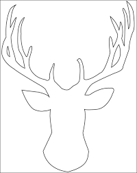 7a1a584ef33c2f3b0178397962975b8d reindeer head template cut scrapbooking sheet and frame for living on frame outline template