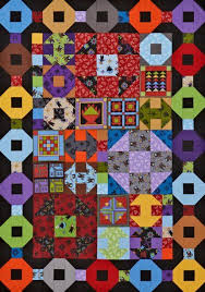 17 best Debbie Beaves images on Pinterest | Afghans, Block quilt ... & Fabrics are from the Almost Amish collection by Debbie Beaves and Cotton  Supreme solids, both for Doshi Bentley Fabrics. Adamdwight.com