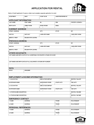 Application Form For Rental Fill Out Rental Application Alberta Fill Online Printable