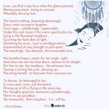 Love Yes That Crazy Lov Quotes Writings By Ruchi Chhabra