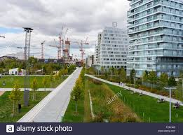modern architecture buildings. Paris, France, New Ecological Apartment Buildings, In Modern Architecture Project, Neighborhood, Buildings