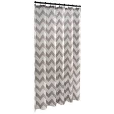 shop allen  roth polyester grey geometric shower curtain at lowescom