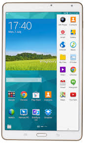 samsung tablet. samsung galaxy tab s 8.4 front tablet