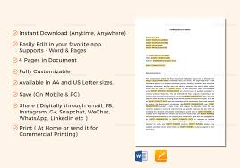 Sample Executive Memo Executive Memo Template In Word Google Docs Apple Pages 19