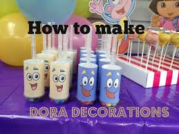 Small Picture How to make Dora The Explorer Party Decorations with FREE