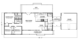 3 bed 2 5 bath ranch house plan with