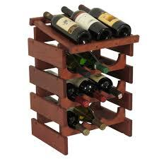 12 bottle wine display image