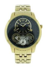 lord elgin wrist watch 21 jewel movement wrist watches men s wrist watches elgin fg8080 mens round analog automatic gold tone bracelet style watch