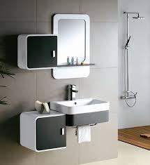 modern bathroom cabinets. Image Of: Modern White Bathroom Vanity Cabinets