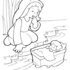 Small Picture Free Bible Coloring Pages Baby Moses Archives Mente Beta Most